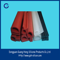 Manufacturer supply extrusion silicone rubber door gasket