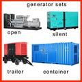 16kw-1200 kW Cummins generadores diesel, generador diesel, generador de