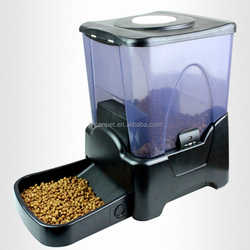 Large Dog Feeder Automatic Electronic Timer Programmable Timed Portion Control for Slow or Fast Feeding