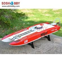 E32 Leopard Racing Boat/ Brushless Catamaran Boat/ RC Electric Boat with 3674 1860KV Motor/ 120A ESC