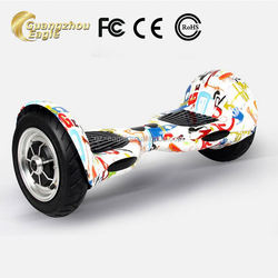 2015 Mini 2 Wheels Self Balance Electric Scooter Glide Unicycle LED Drifting Board Portable Vehicle