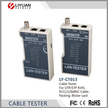 LY-CT013 RJ45 BNC Tester Lan Network Cable UTP tester