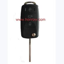 VW 3 button the flip key remote control number is 1J0 959 753 P 433MHZ remote key