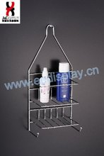 New Suction Cup Wall Mounted Bathroom Shelf/rack/ Shampoo Holder