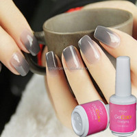 RNK free sample 42 colors temperature change nail polish