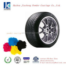 High quality mirror chrome wheel powder coating
