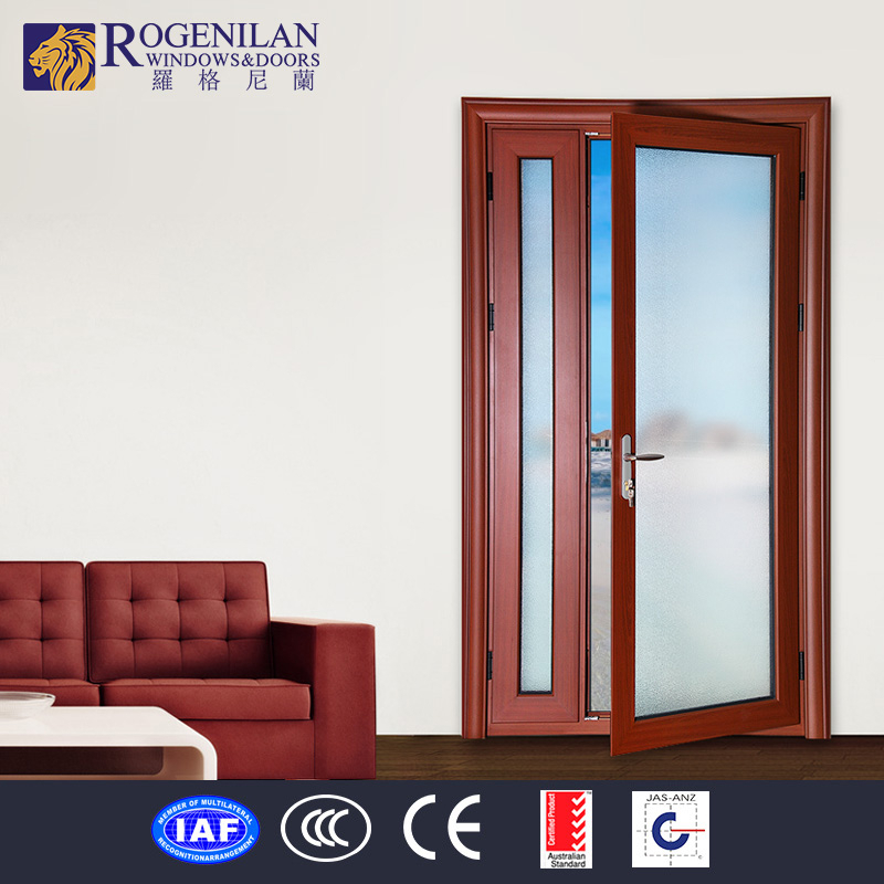 Aluminum door double swing aluminum door - Swinging double doors interior ...
