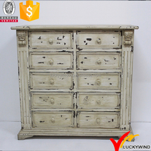 distressed white drawers handmade shabby chic wood furniture