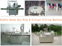 Factory Price Eye Drop Filling Machine & Electronic Cigarette Liquid / E-Liquid Filling Machine For Hot Sales