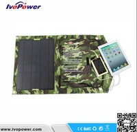 15W 5V dual USB portable mini solar charger solar pv cell phone charger