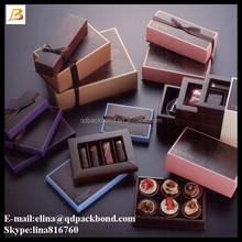 Alibaba china supplier decorative luxury gift packaging cardboard paper chocolate box