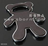 Fashional designed customised fridge magnets metal 3d bear shape fridge magnet