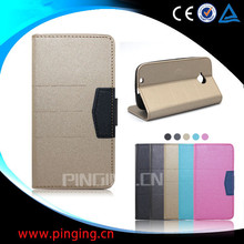 New arrival flip leather cover cell phone case for Blu D050U , wallet case for Blu D050U