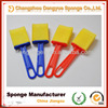 2014 New plastic handle foam brush clean dust painting sponge brushes