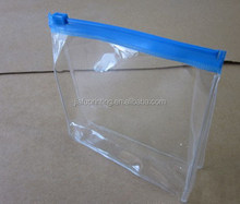 Custom transparent pvc zipper bag\bedding packing plastic bag pvc bag for blanket