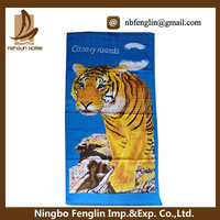 China Factory Best Value Printed Terry Cloth Beach Towel