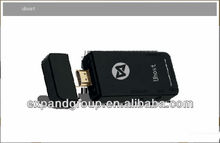 Uhost 2 Dual Core Android TV Box Mini PC RK3066 1.6GHz 1G RAM 4G ROM with Bluetooth/Skype/XBMC Black