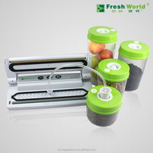 Lingth duty household packing machine foos storage portable vacuum food container sealer