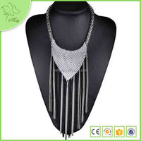 Fake Tassels Cheap Wholesale Fashion Statement Jewelry For Party Wedding