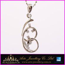 3 circle row 925 sterling silver pendant necklace aroma pendants