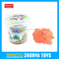 500g space sand with animal molds wholsale colourful magic moon sand toys kids modeling sand