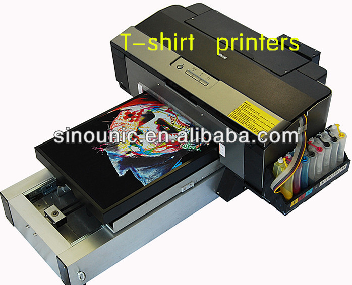 Multi function tshirt digital flatbed printer t shirt for T shirt screen printers for sale