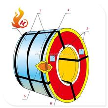 pvc coated steel pipe/galvanized steel sheet pvc coated