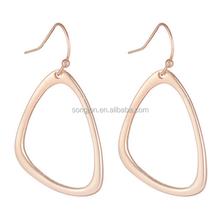 Simple gold earring designs for women gold earring jewelry