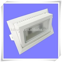 Factory Supply Hot Sale New Style IP65 40W LED Woven Glass Ceiling Light Housing