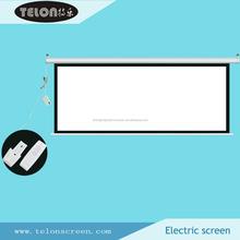 "TELON 200"" 4:3 Motorized projection screen/Electric projector screen/Large size electric projection screen"