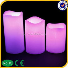 Hot sell christmas gift remote control flameless led candles