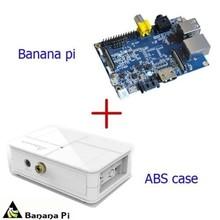 Banana Pi A20 ARM Cortex-A7 Dual-Core + White ABS Material Case