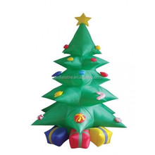 Christmas inflatable tree green inflatable tree for christmas