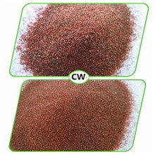 High quality red garnet sand for water jet cutting