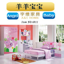2015 Top Sales Hand painted bedroom furniture of french style