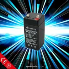 4V 4AH Rechargeable Storage SMF AGM Sealed Lead Acid Solar 4V 4AH Battery