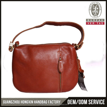 2015 Latest design women genuine leather handbag direct from China