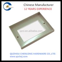 Custom manufactured sheet metal frames PCB enclosure