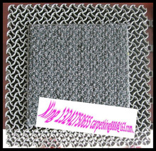 Dust cleaning mat with color fast doormat