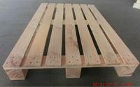 Euro size pine wood pallet
