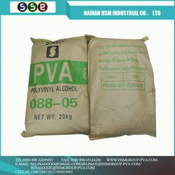 Wholesale China Factory polyvinyl alcohol solubility