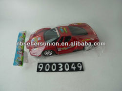 Red Plastic Toy Car Model for Kids