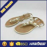 Ladies bridal sandal new design , chinese happy feet sandal