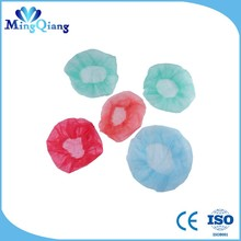 Nonwoven Hair Net Caps Cover Lab Medical Food Service