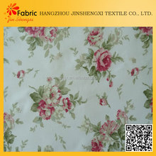 6604 new design 100% cotton flower printing textile fabric