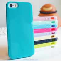 Glossy Thin TPU Candy Case Cover For Apple iPhone Models