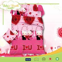 BBS099 satin fabric home use babies cheap 3d quilt, quilt bedspread patchwork, cheap quilt