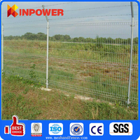 PVC coated 3D wire mesh fence / Real manufacturer wire fencing
