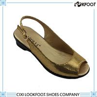 Slip resistance elegant fancy shoe women 2015 new design ladies sandal