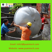 industrial machinery biogas plant disposer with balloon for food waste
